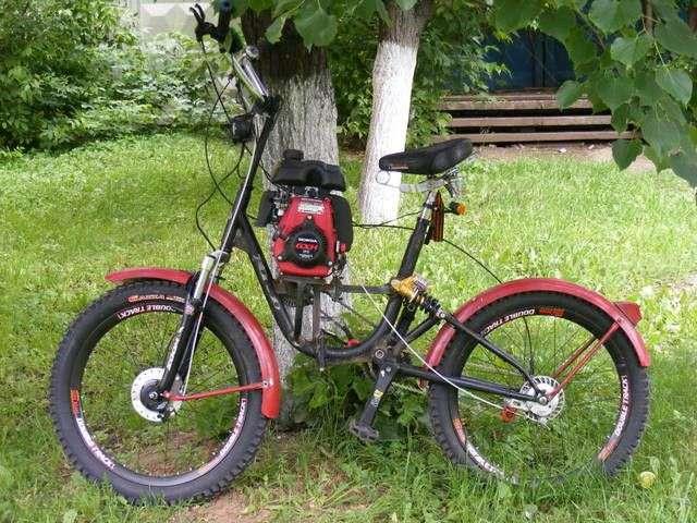 Как сделать велосипед своими руками с мотором