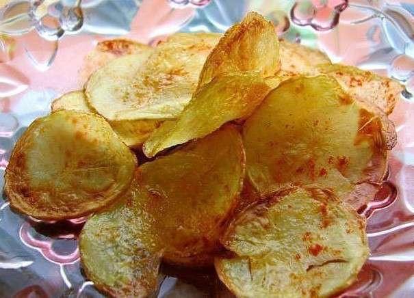 Как сделать чипсы в духовке в домашних условиях рецепт