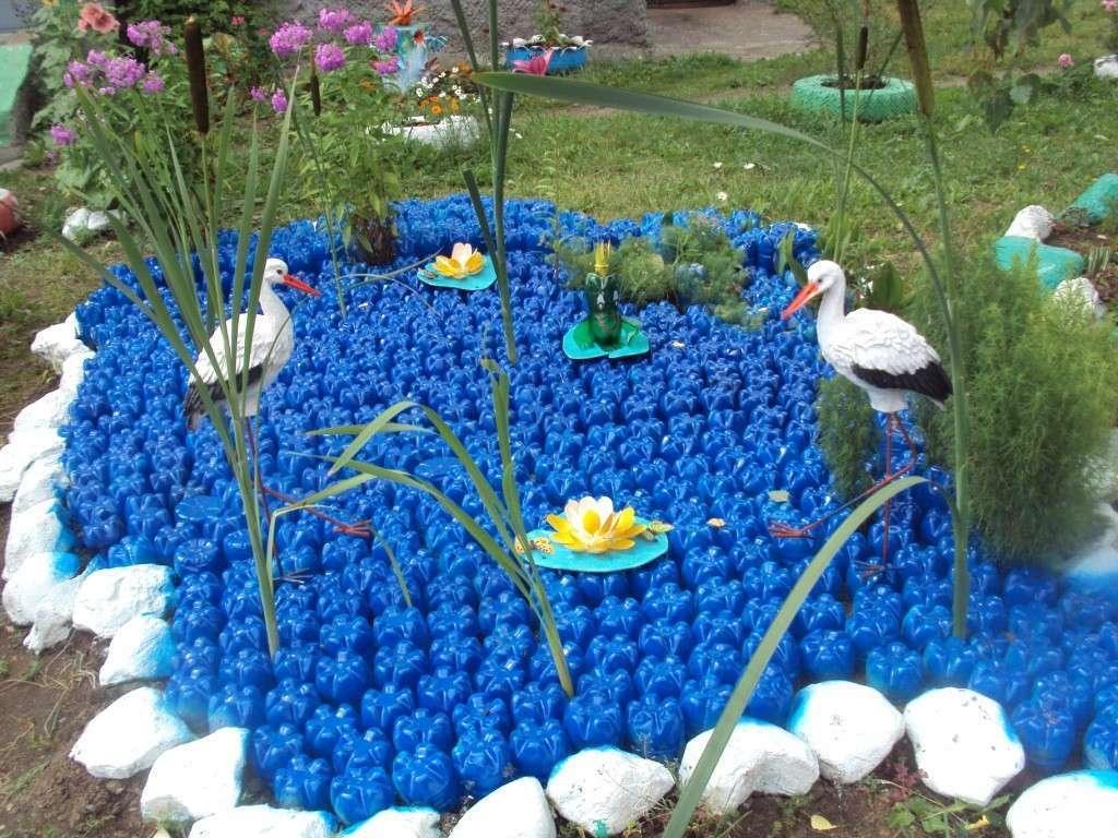 32 идеи с фото для оригинального украшения сада своими …