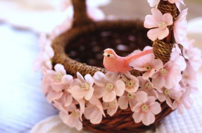 Весенняя корзина на Пасху: как украсить?