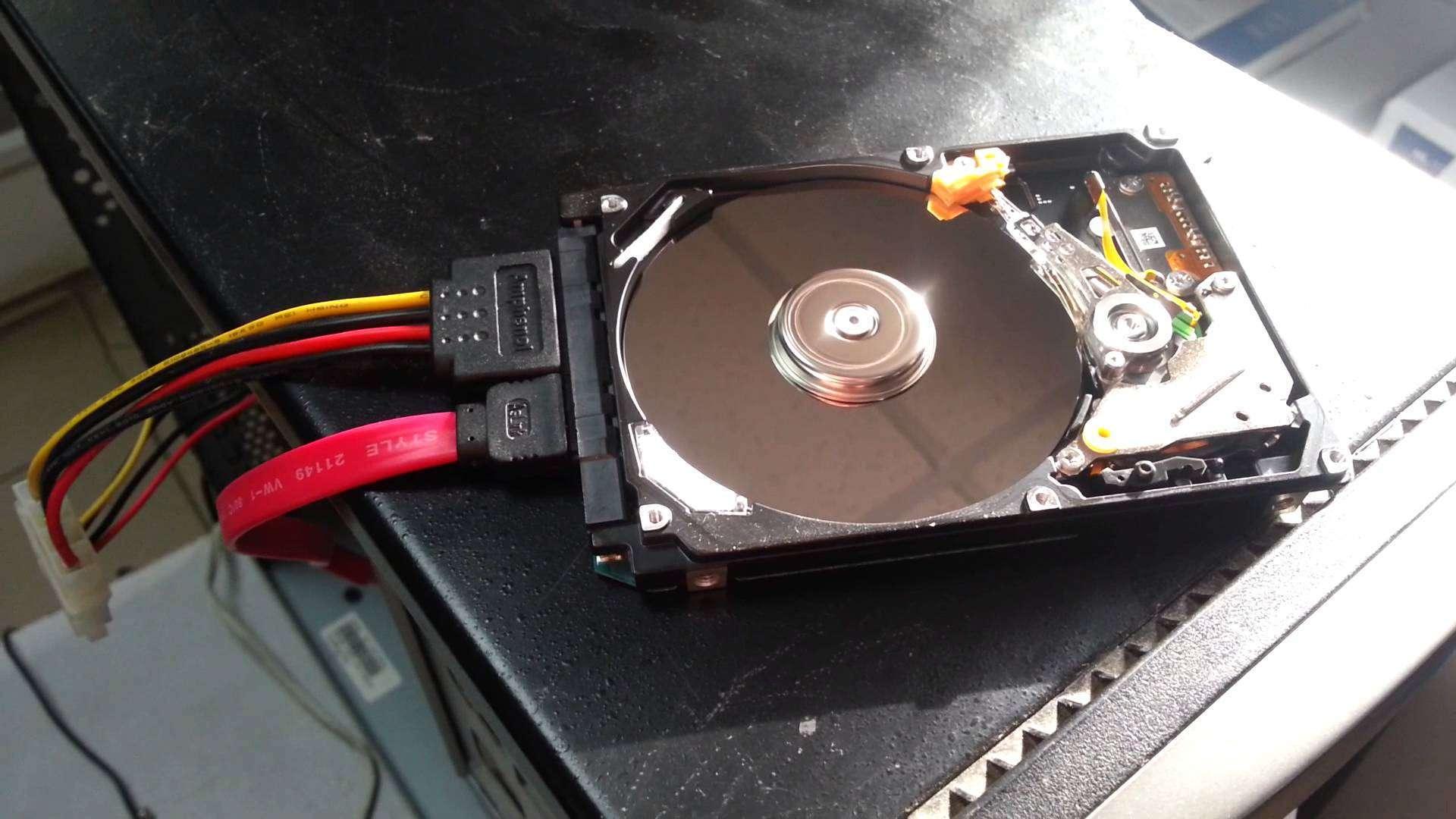 Как сделать жесткий диск съемным носителем