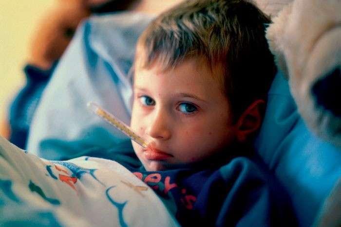 сахарный диабет у детей температура