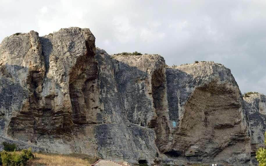 бельбекский каньон крыма