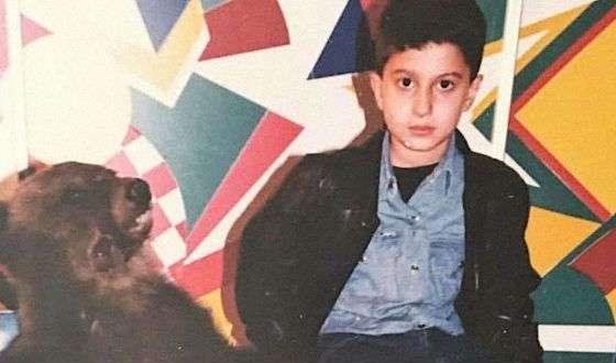 в детстве амиран сардаров фото