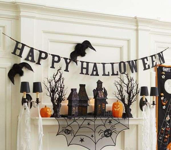 хэллоуин декор квартиры