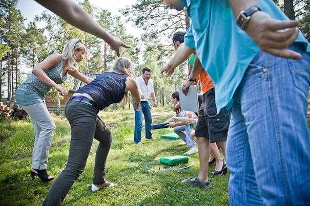 Конкурсы на природе для взрослой компании