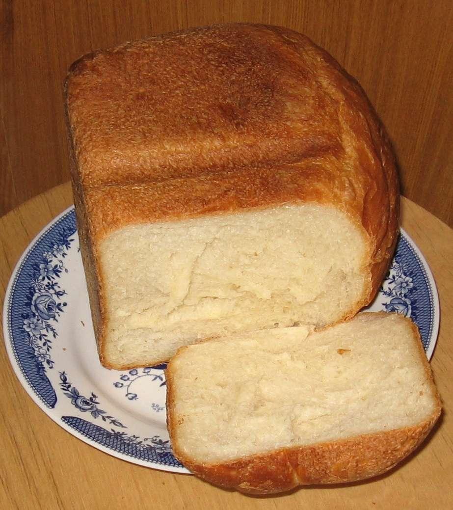 Белый хлеб в хлебопечке рецепт с фото пошагово