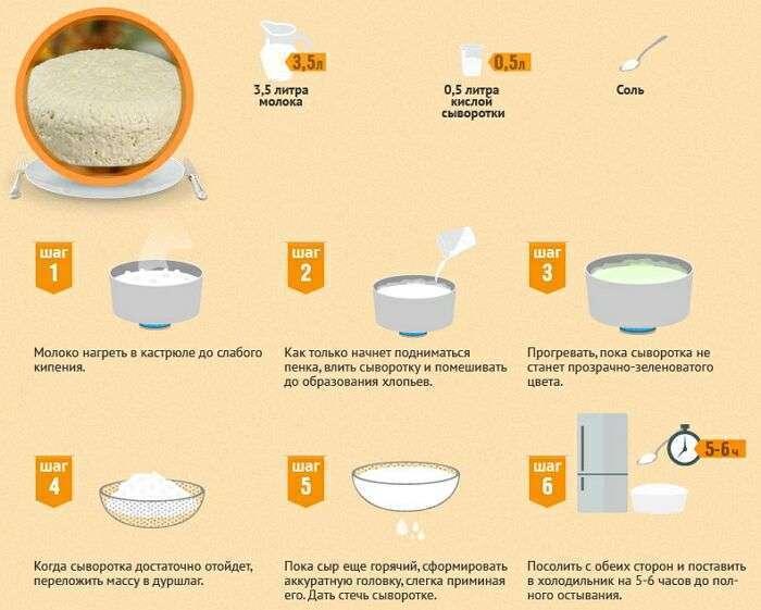 Рецепт брынзы сыра в домашних условиях