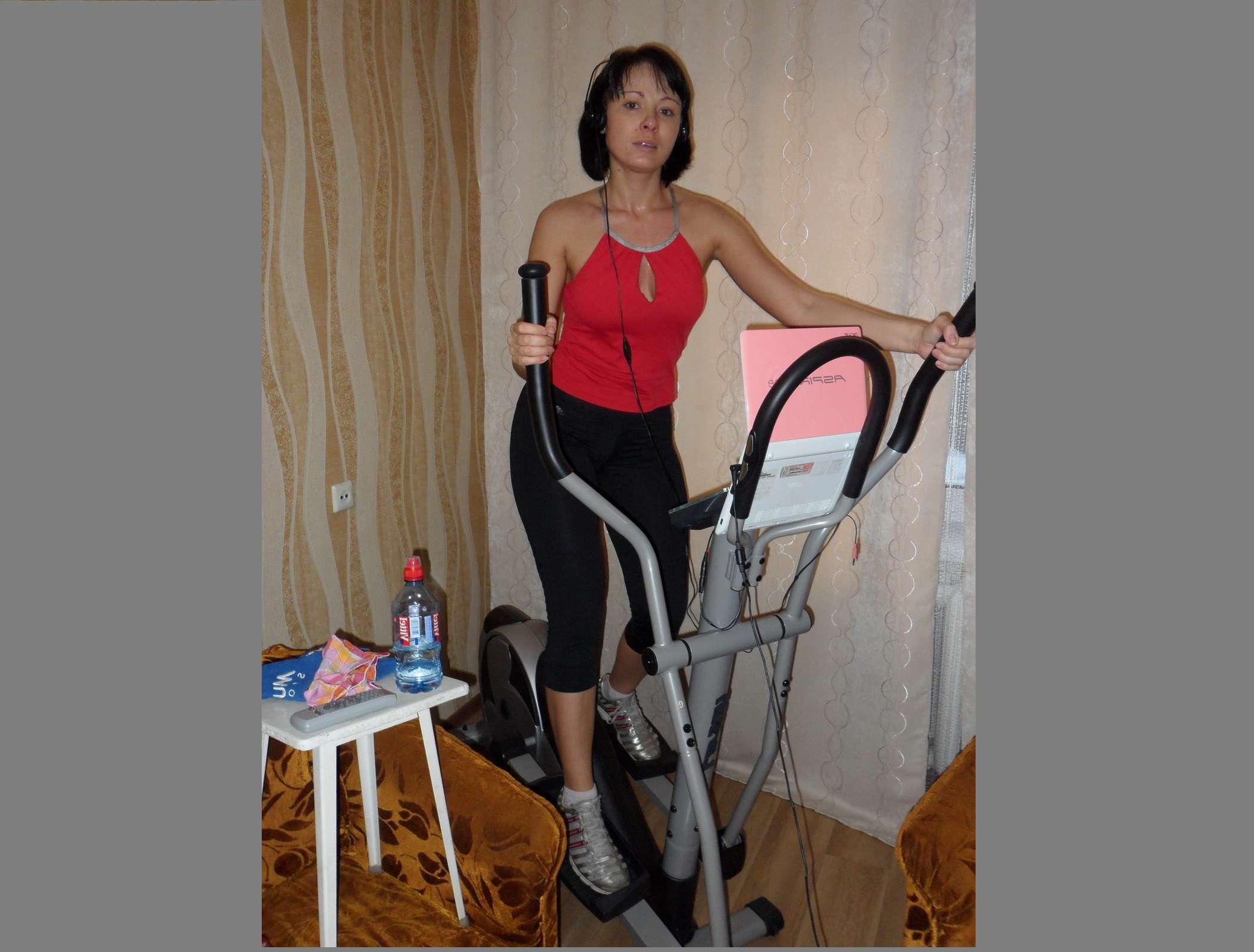 Похудеют ноги с помощью велотренажер
