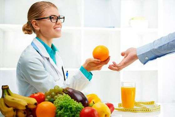 Помощь врача диетолога