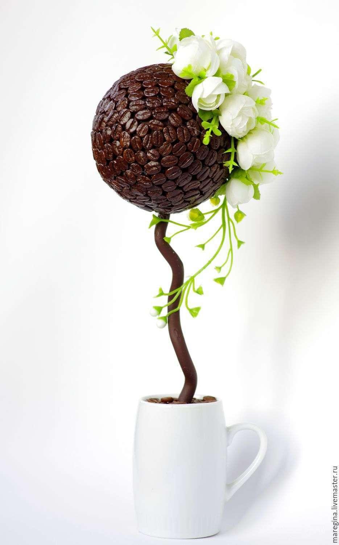 Поделки кофейное дерево своими руками мастер класс
