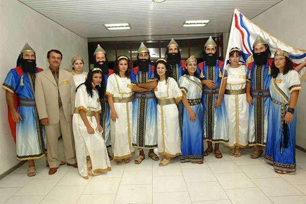 ассирийцы внешность фото