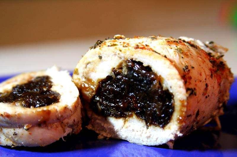 Куриные рулетики с черносливом рецепт с пошагово в духовке