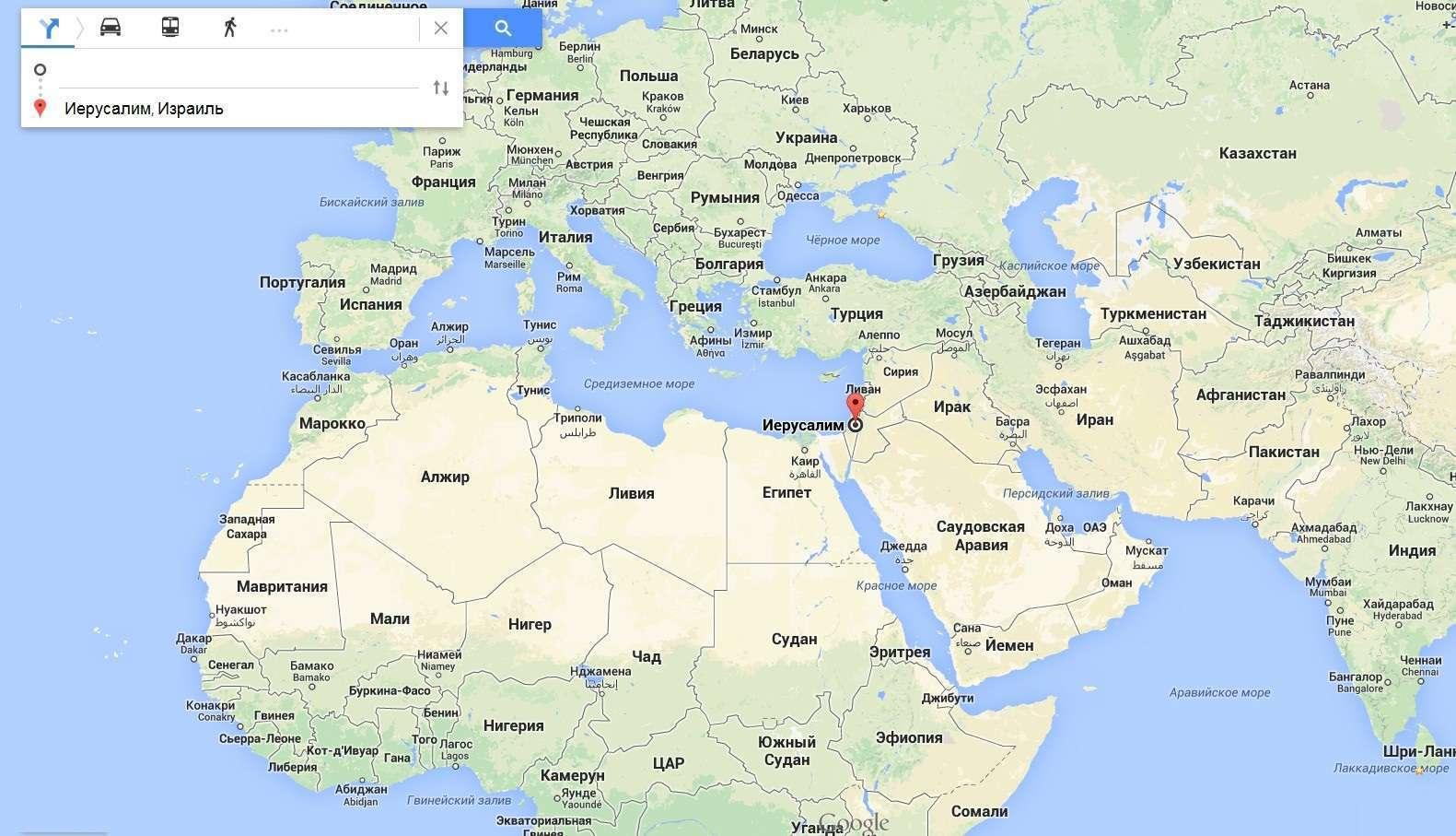 На чьей территории Иерусалим находится сейчас?