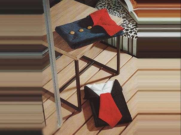 Пиджак и женская блузка - оригами из полотенец