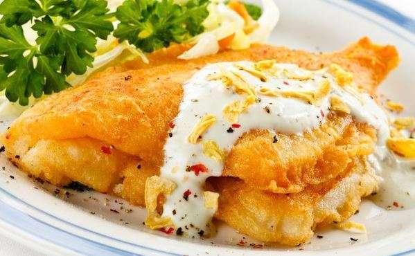 сырный кляр для рыбы