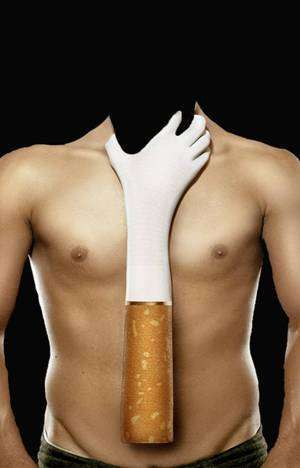 Вам не добиться желаемого результата без отказа от курения