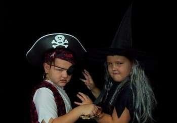 Детские костюмы на Хэллоуин своими руками