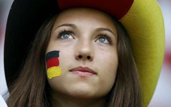 Очаровательная жительница Германии
