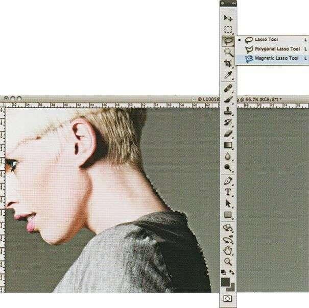 Вырезание в программе Photoshop
