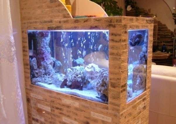 Из чего сделать аквариум своими руками