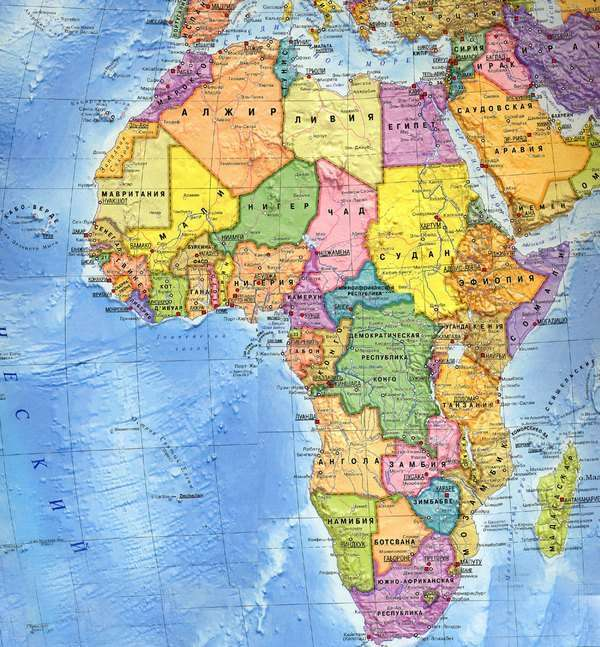 Страны Африки, превосходящие по площади остальные государства. Фото с сайта gturs.com