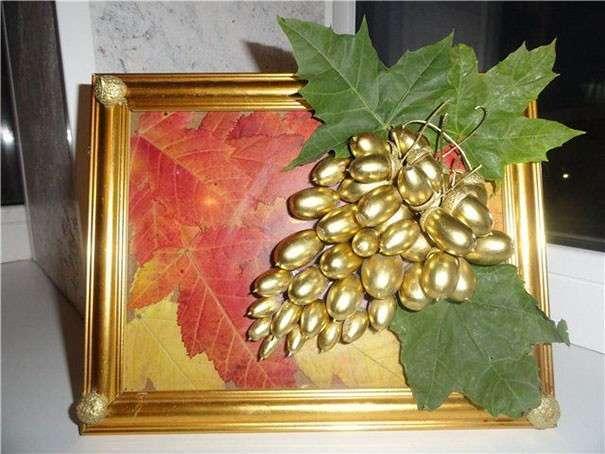 Осенняя поделка из желудей своими руками