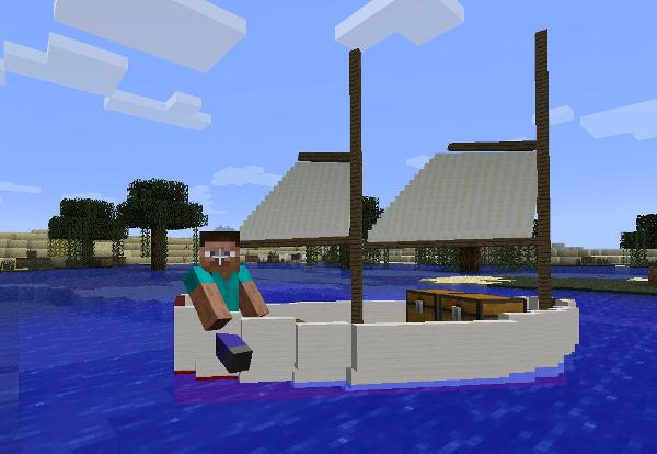 Переночевать можно и в лодке