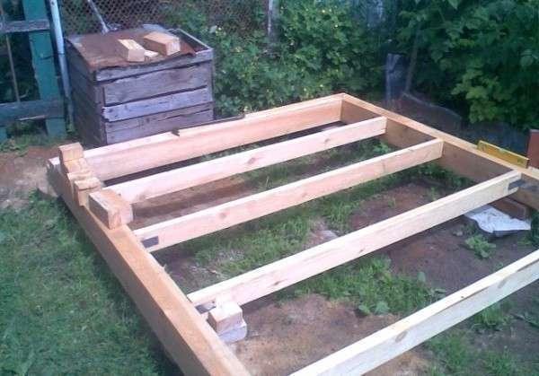 Построить хозблок на даче своими руками пошаговое