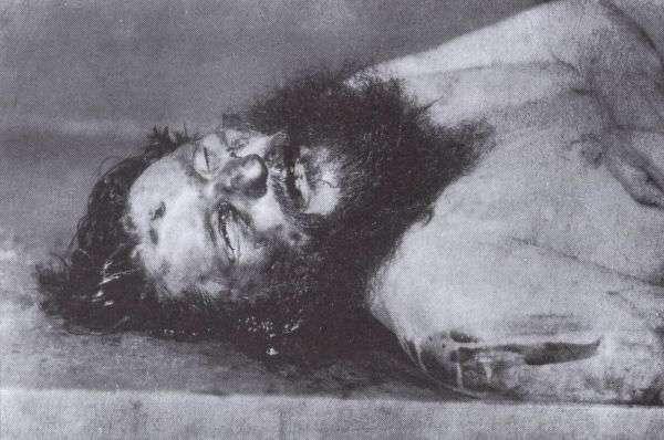 Фото убитого Распутина
