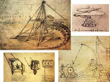 Великие изобретения великого Леонардо да Винчи. Фото с сайта russiahousenews.info