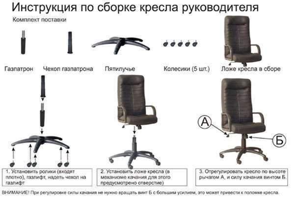как собрать компьютерный стул видео инструкция - фото 11