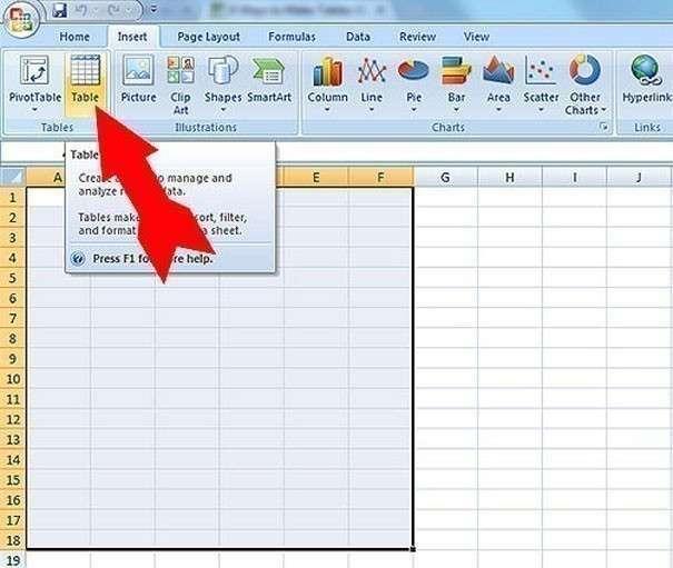 Как сделать раскрывающуюся таблицу в excel