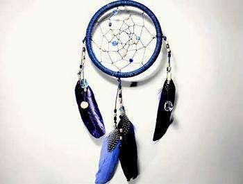 Как украсить перьями ловца снов? Фото с сайта space-crafts.ru