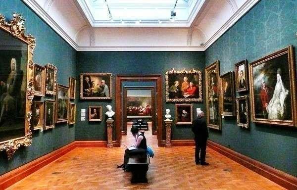 Как пишется слово галерея