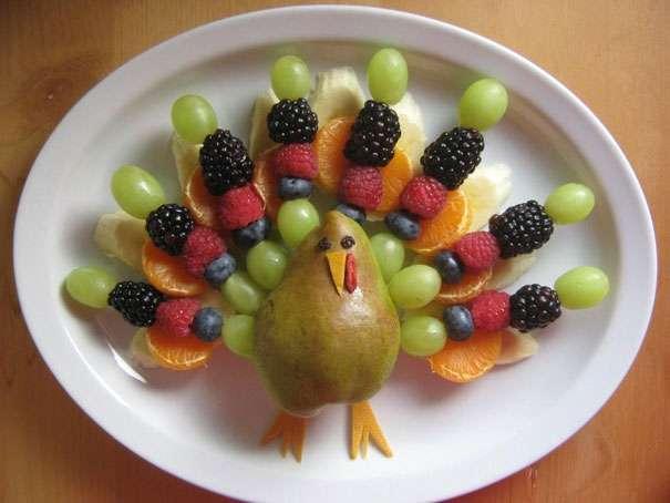 Фигурки из фруктов своими руками фото