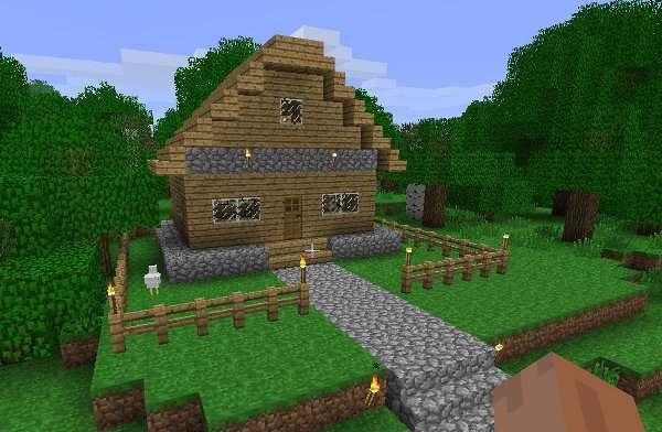 Немного фантазии, и вы получите комфортабельный дом