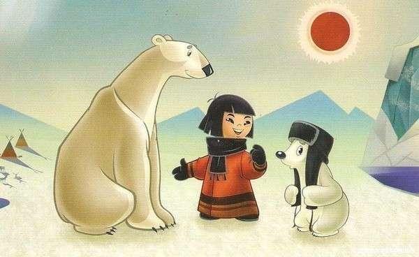 Умка — один из любимых мультфильмов детей. Фото с сайта kino-kartiny.ru