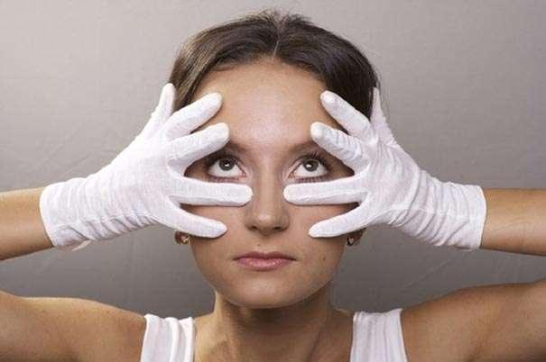 упражнения для лица от морщин под глазами