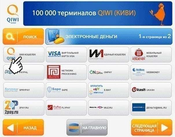 Как пополнить Paypal наличными через терминал Qiwi