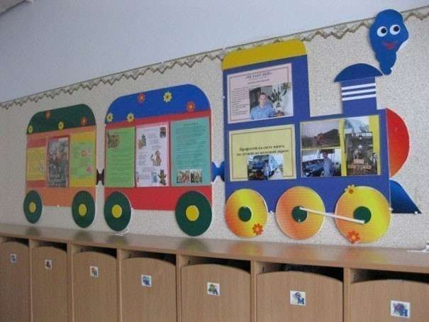 Оформление приемной в детском саду своими руками фото по фгос