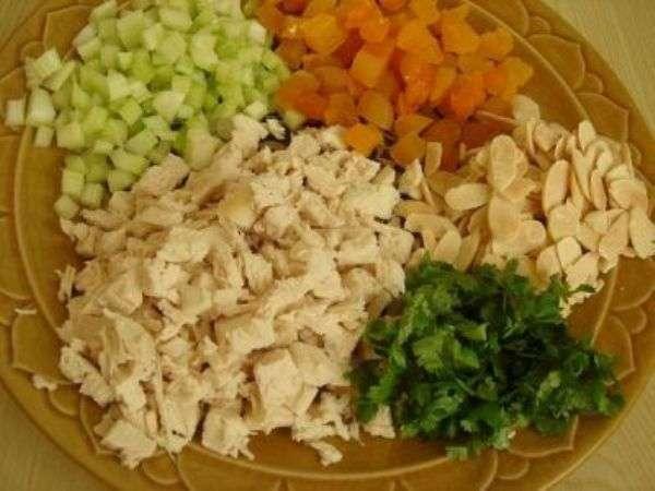 Легкий салат с куриной грудкой рецепты с