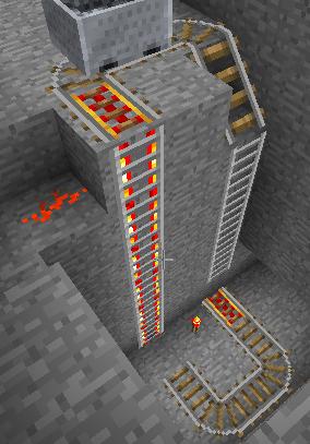 Смотреть как в майнкрафте сделать лифт