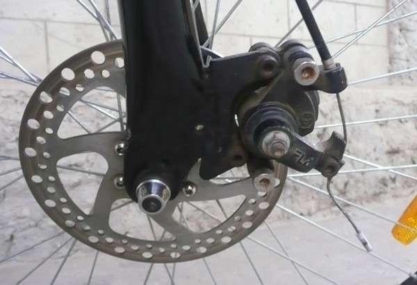 Тормоза на велосипед бывают нескольких типов