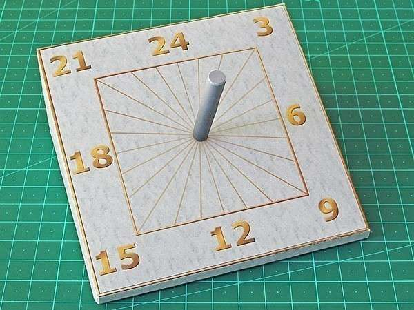 Как сделать из бумаги часы фото 805