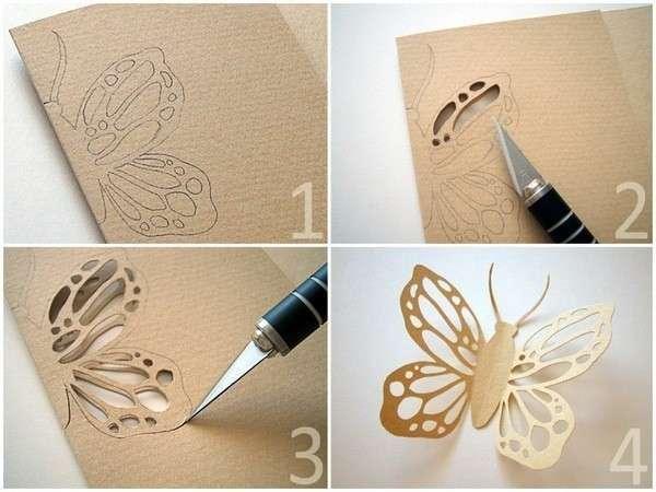 Сделать красивого своими руками бабочек