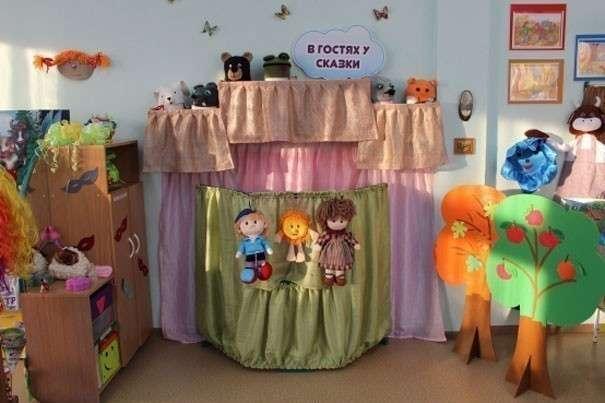 Ширма для детского кукольного театра своими руками фото 927