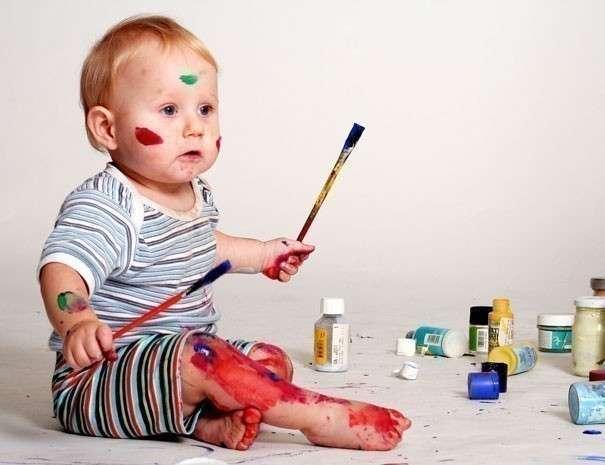 Как научить ребенка рисованию