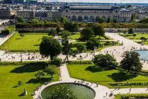 1 день на Сад Тюильри в Париже