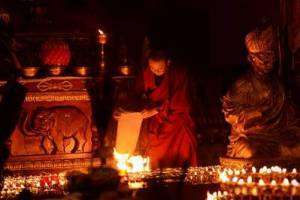 Зула Хурал - День ухода в нирвану Богдо Цзонхавы